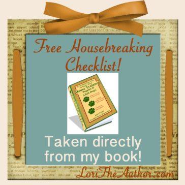 House Training Supplies Checklist