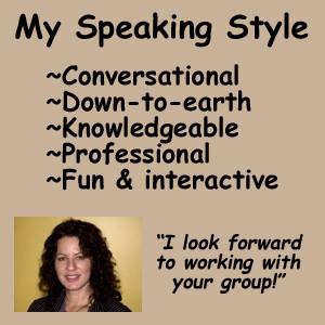 Lori Seminar Pic-Info